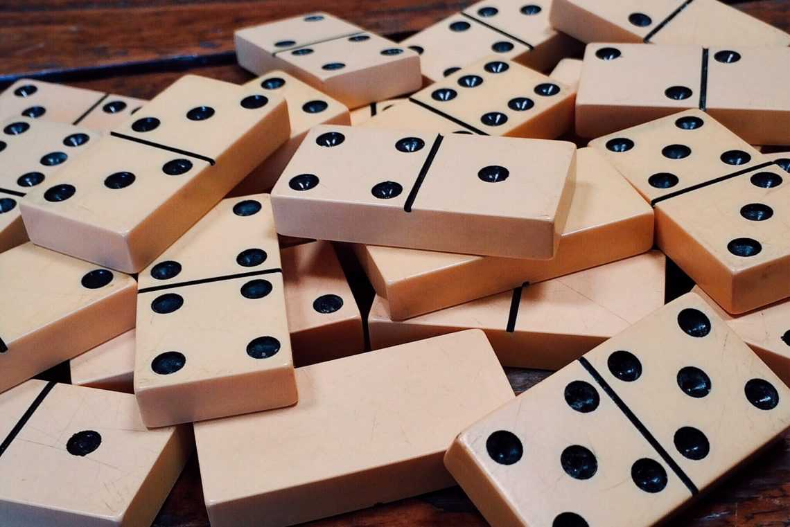 Changing Just One Single Thing Has the Power to Start a Domino Effect