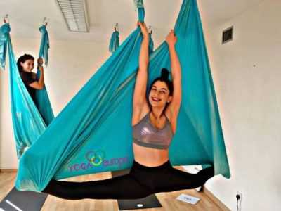 5 Days 50 Hours Aerial Yoga Teacher Training in Cyprus
