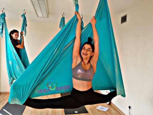 5 Days 50 Hours Aerial Yoga Teacher Training in Cyprus