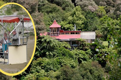 The Flying Fox, Retreat Accommodation on the Whanganui River