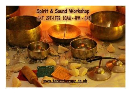 SPIRIT AND SOUND WORKSHOP