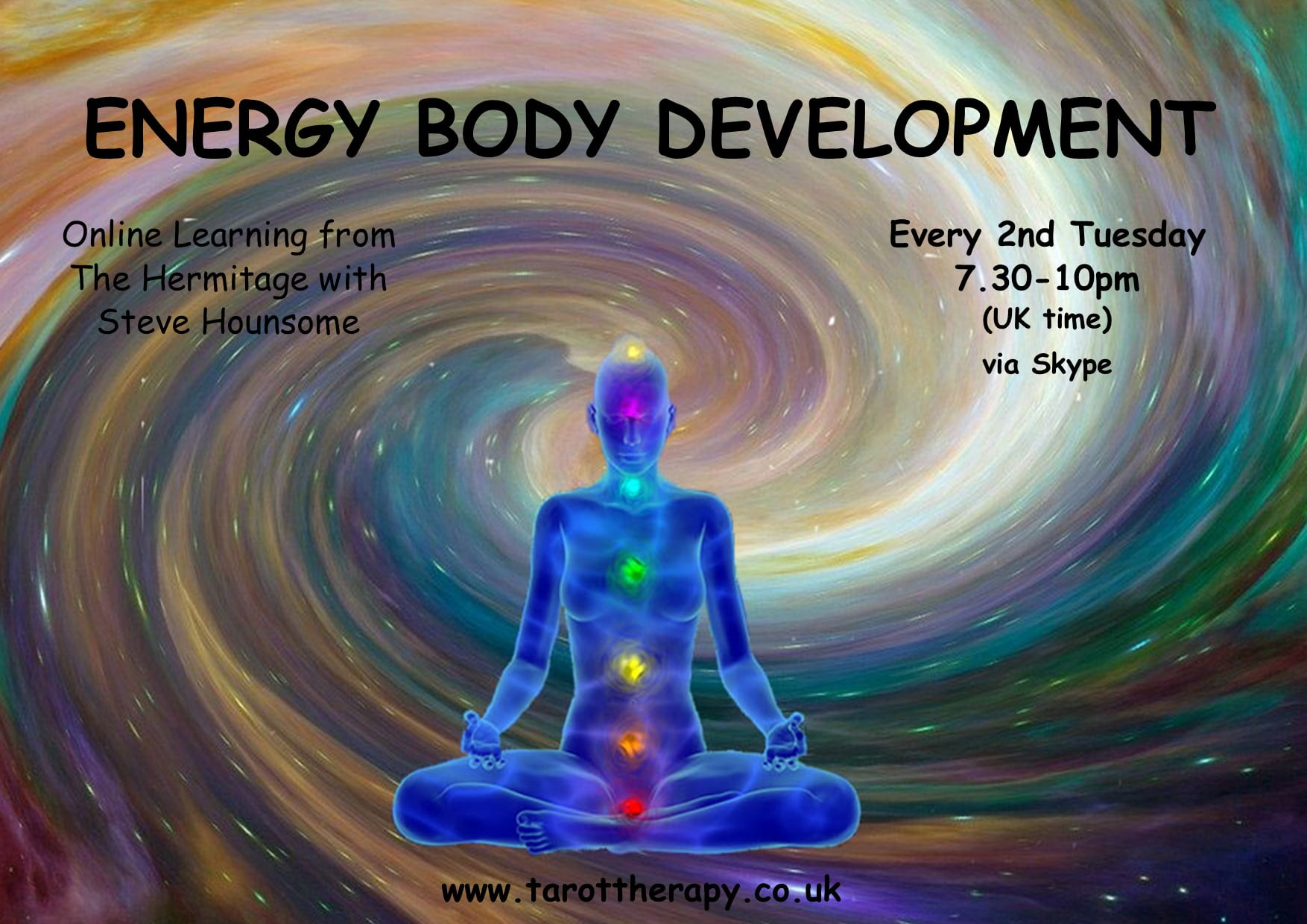 Online Energy Body Development Group with Steve Hounsome