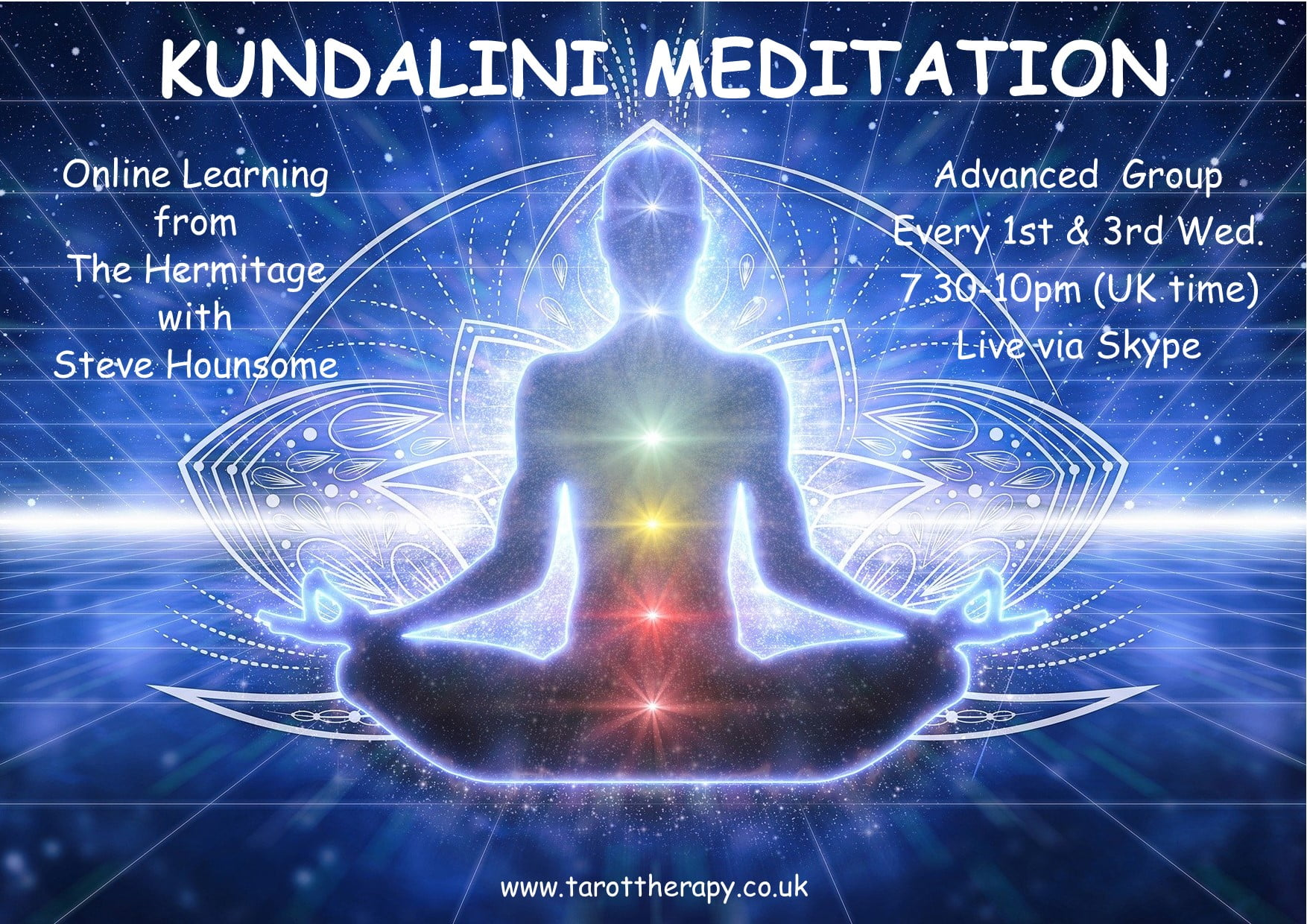 Online Kundalini Meditation - Advanced Group with Steve Hounsome