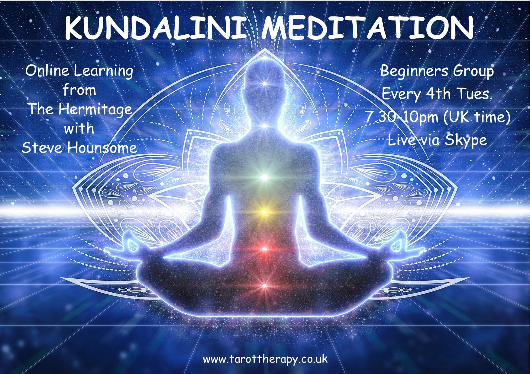 Online Kundalini Meditation Group - For Beginners - with Steve Hounsome!
