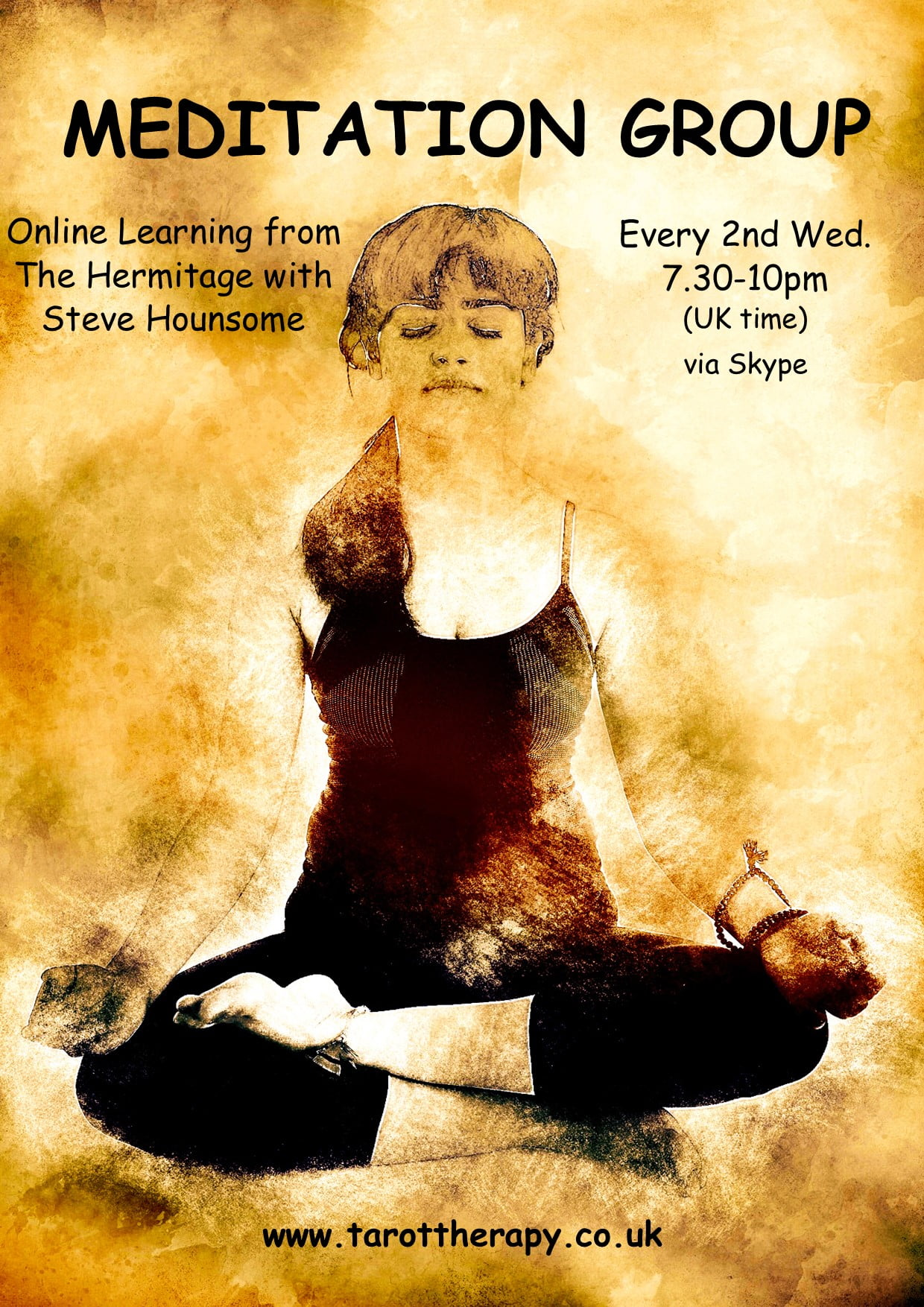 Online Meditation Group with Steve Hounsome