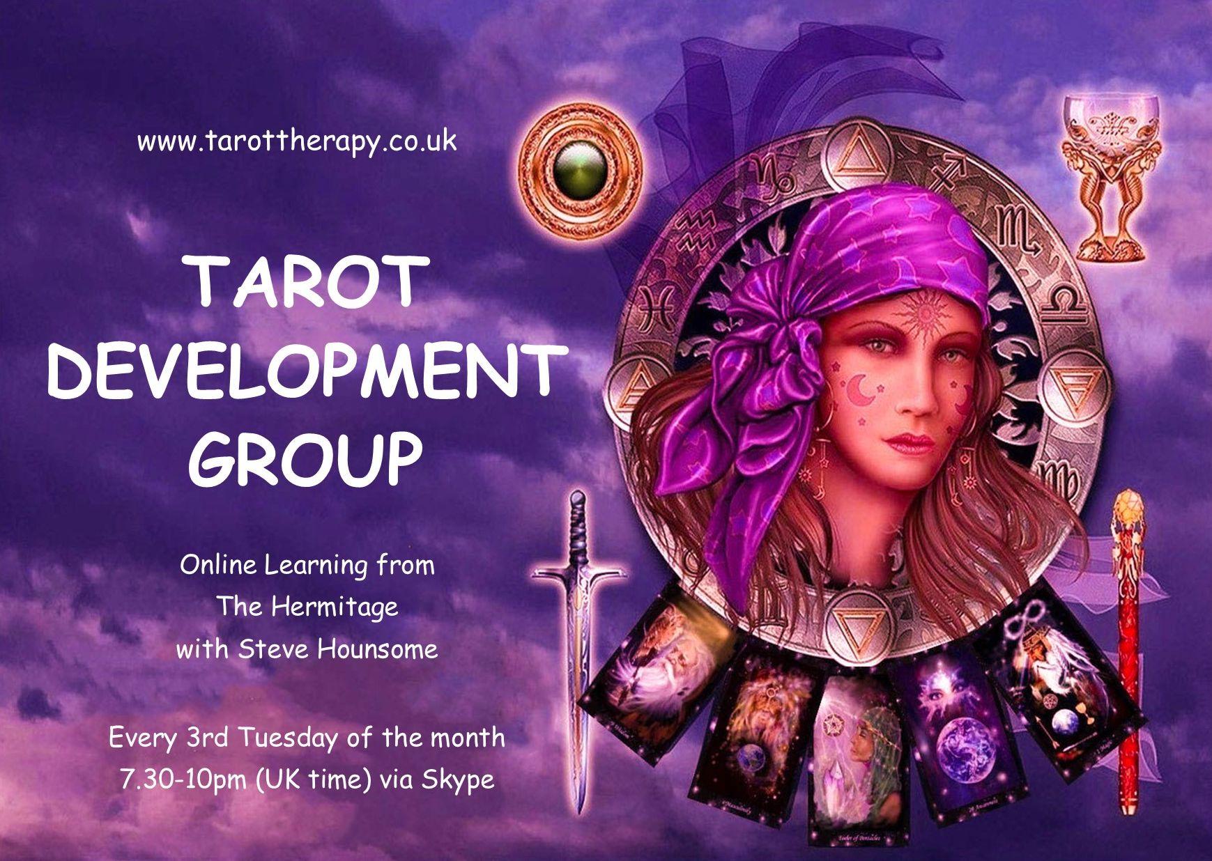 Tarot Development Group with Steve Hounsome - Exploring Self Development Through Tarot!