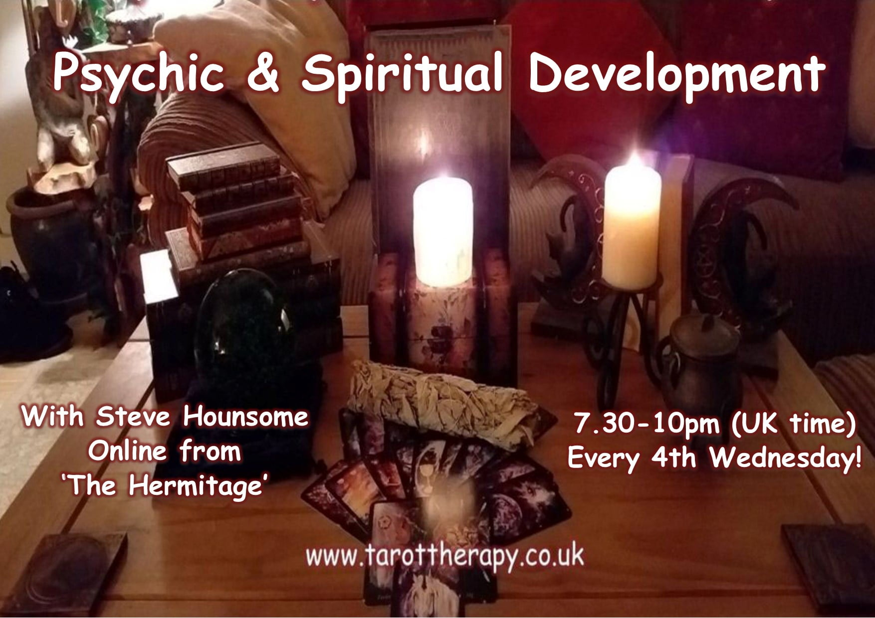 Online Psychic & Spiritual Development Group with Steve Hounsome