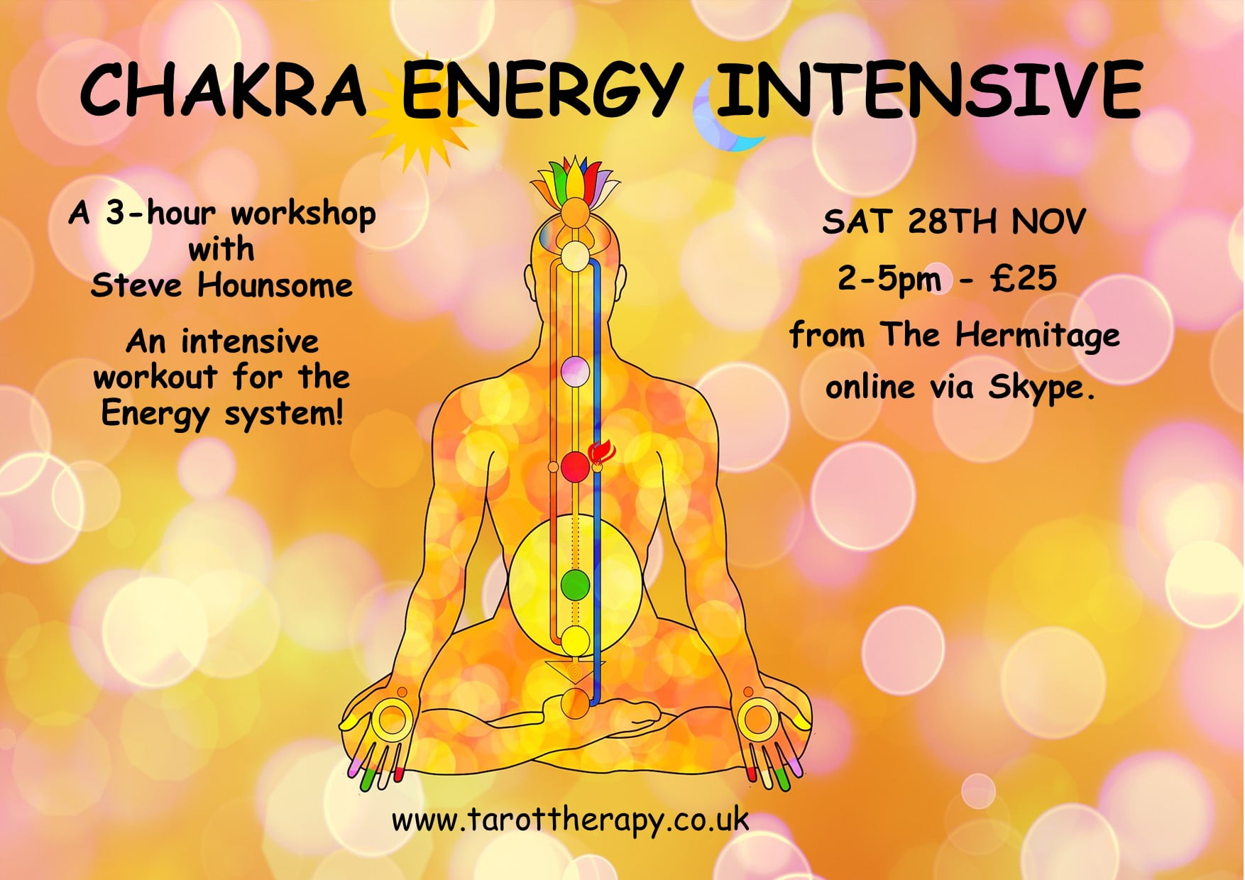 Online Chakra Energy Intensive Workshop 1