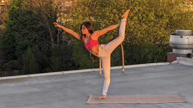 Free 60 Minute Virtual Online Yoga with Shing Yiing Ong -- NV 1