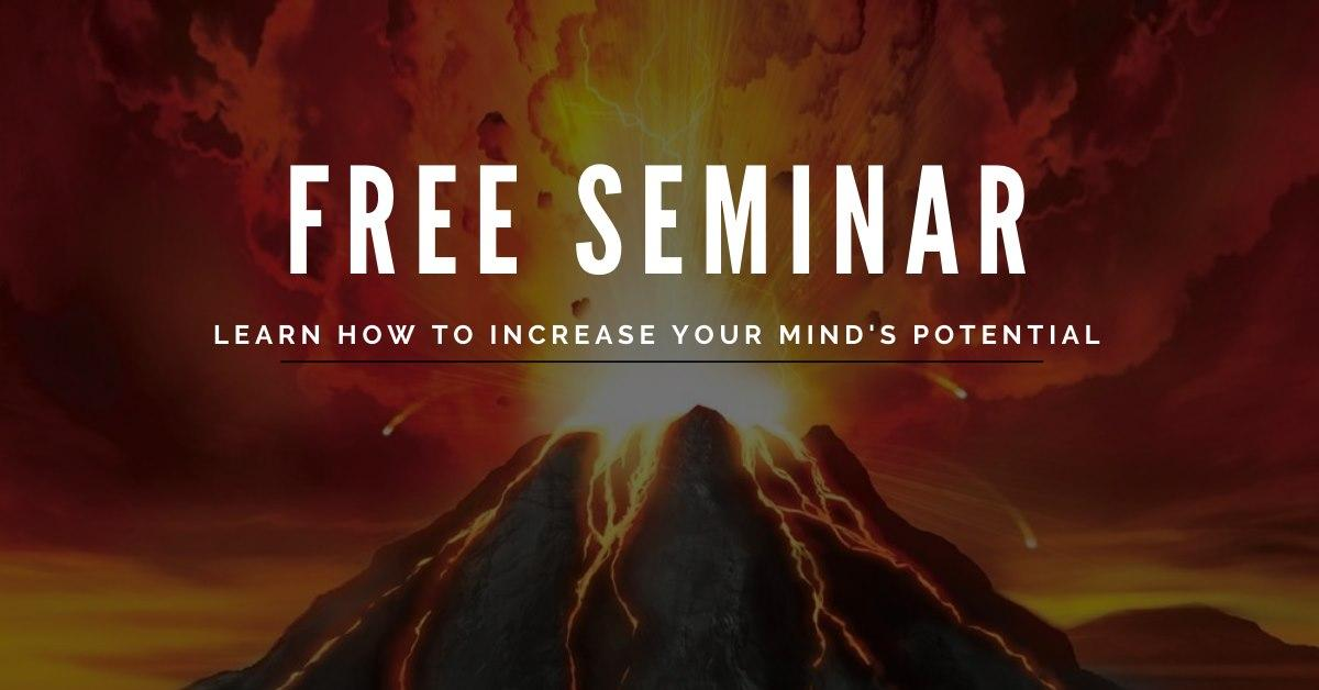 How to Achieve 100% Mind Potential (Free Seminar) 1