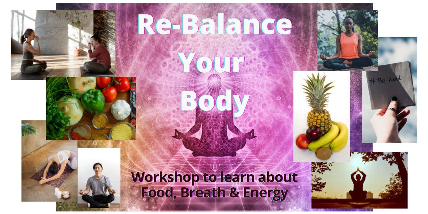 Re-Balance Your Body Workshop 1